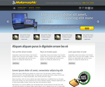 Metamorphic Dreamweaver Template